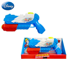 цены Disney Outdoor Games Children Holiday Fashion Mickey Blaster Water Gun Toy Kids Colorful Beach Squirt Pistol SprayWater Gun Toys