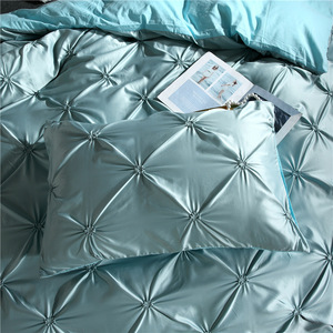 Image 4 - LOVINSUNSHINE Bedding Set Duvet Cover Comforter Flower Bed Linen US King Size Silk Duvet Cover Set AN01#
