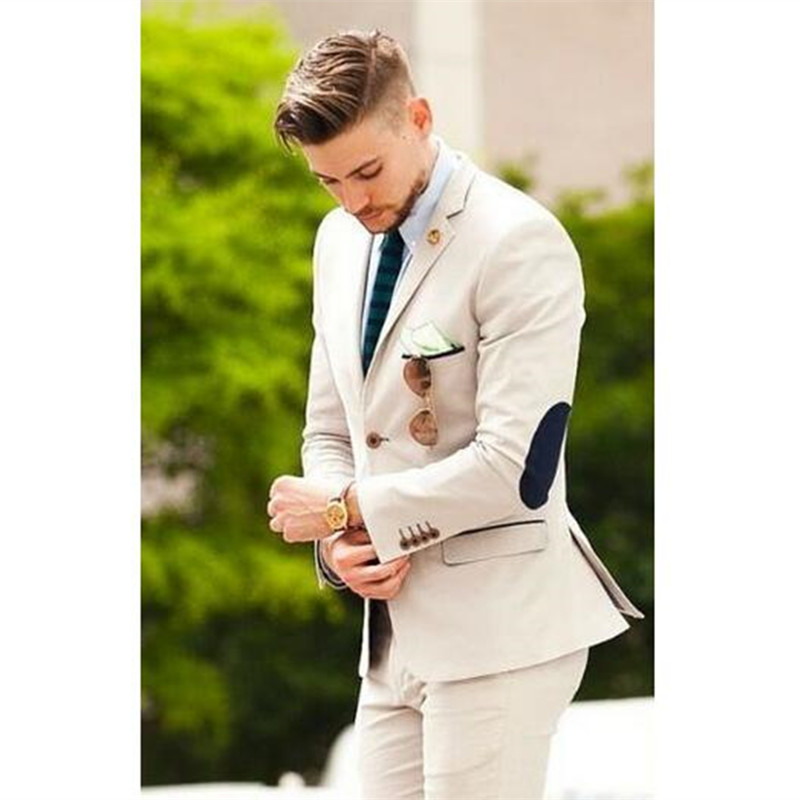 2019 Latest Mens Slim Fit Wedding Suits Male Casual Skinny Tuxedo Shawl Lapel Suits White Men