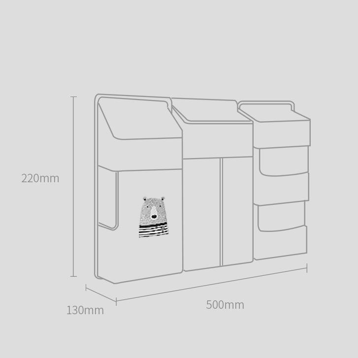 Οργανωτής βρεφικής κούνιας sunveno by sam box msow