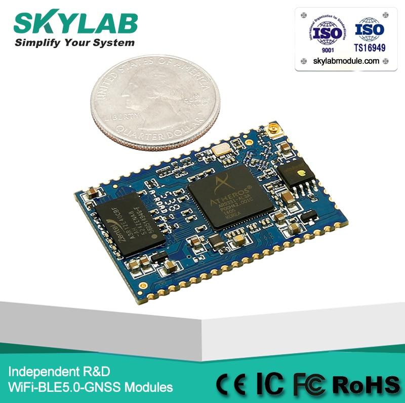 SKYLAB SKW72 USB/WAN/LAN/UART/GPIO 150Mbps openWRT AR9331 module access point.router/ap client wifi module цены