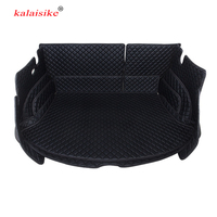 kalaisike Custom car trunk mats for MG all models MG6 GS GT ZS auto accessories car styling
