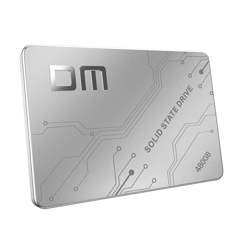 DM Fs500 SSD 480 ГБ Внутренний твердотельный накопитель 2,5 дюймов SATA III HDD жесткий диск HD SSD ноутбук ПК-in Внутренние твердотельные накопители from Компьютер и офис