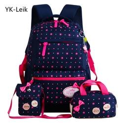 YK-ليك ستار الطباعة الأطفال الحقائب المدرسية للفتيات المراهقين الظهر الاطفال جراحة العظام مدرسية على ظهره mochila infantil