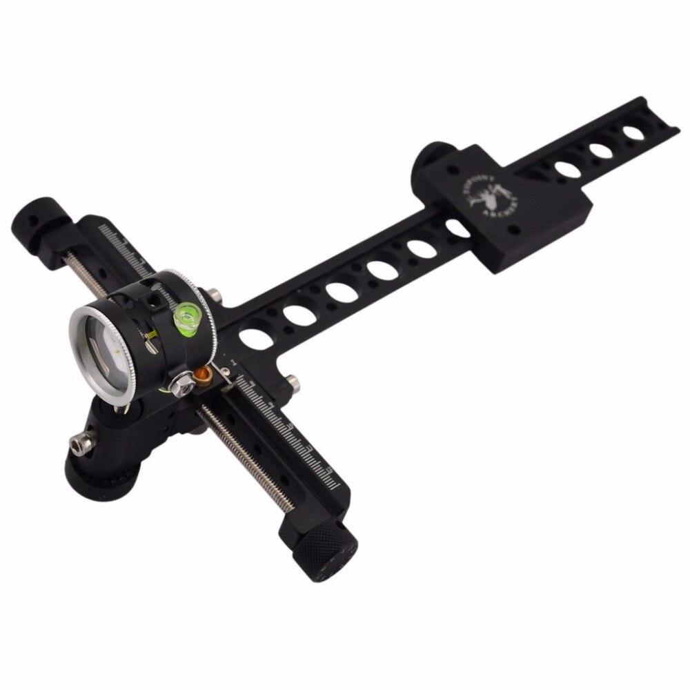 4x objectif ciblage aiguilles de visée composé arc vue pour tir à l'arc chasse composé arc accessoires