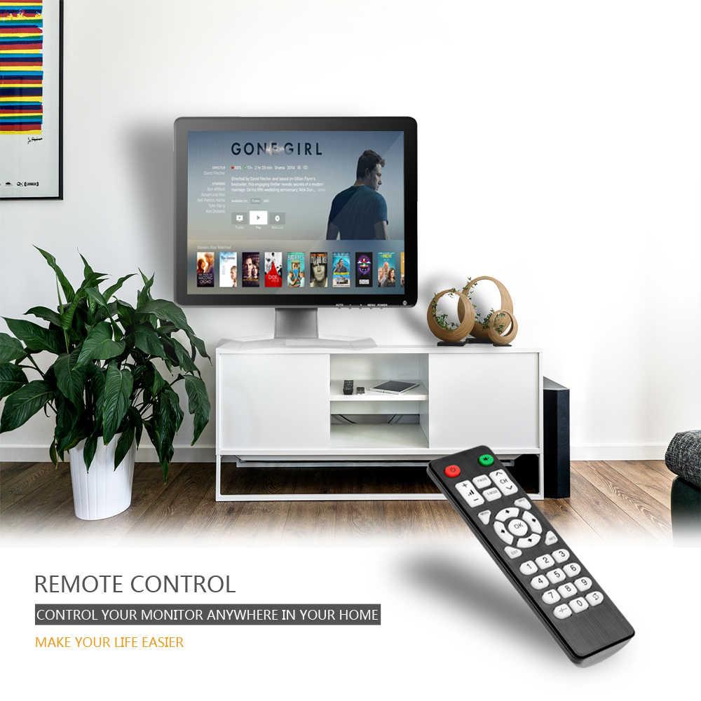 """Podofo 10,1 """"ЖК-монитор с высоким разрешением мини ТВ & компьютер Цвет дисплея Экран 2 канала видео Вход безопасности для контроля уровня сахара в крови с Динамик VGA HDMI"""