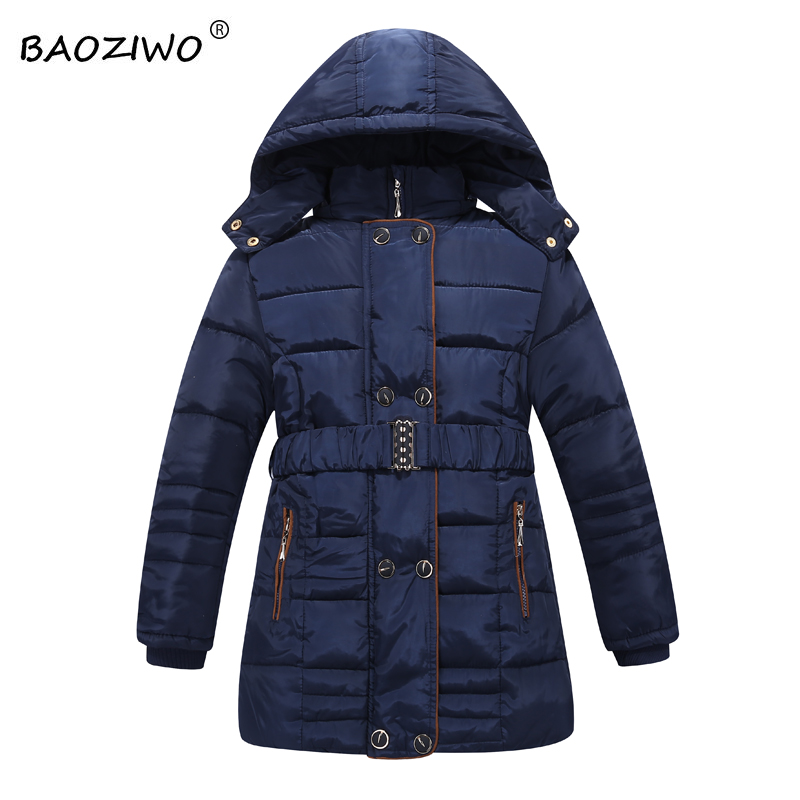 Baoziwo  winter jacket for girls girls outerwear jackets jacket down jacket for girls polar fleece lining , col,fro cold winter