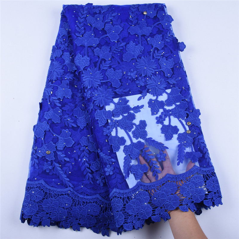 Applique Milk Silk Dress African Net Lace Fabric High Quality French Tulle Lace Fabric Nigerian Lace