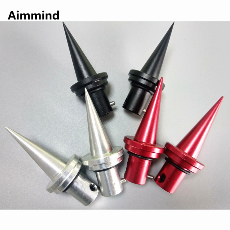 Tactical Hunting 2Pcs Aluminum Bipod Spikes Feet Stainless Quick Install Release for Atlas V8 Bipod Gun Rifle Accessory(China)