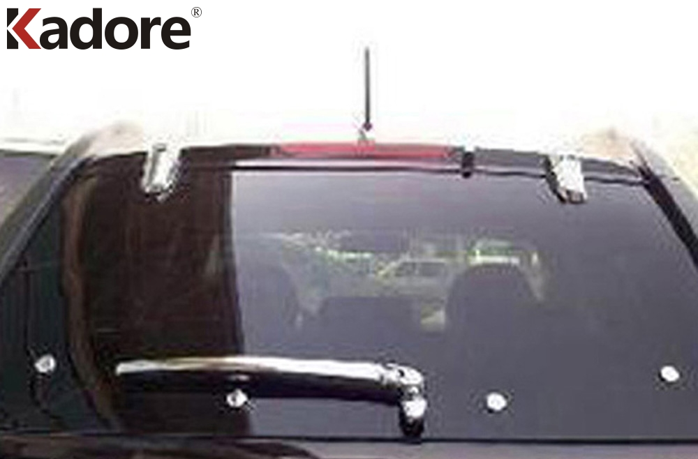 Para Kia Sportage 2007 2008 2009 2010 ABS Chrome Rear Window Wiper - Peças auto - Foto 2