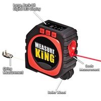 3 in 1 Digital Tape Measure String Mode Sonic Mode Roller Mode Measuring Tools Measure King