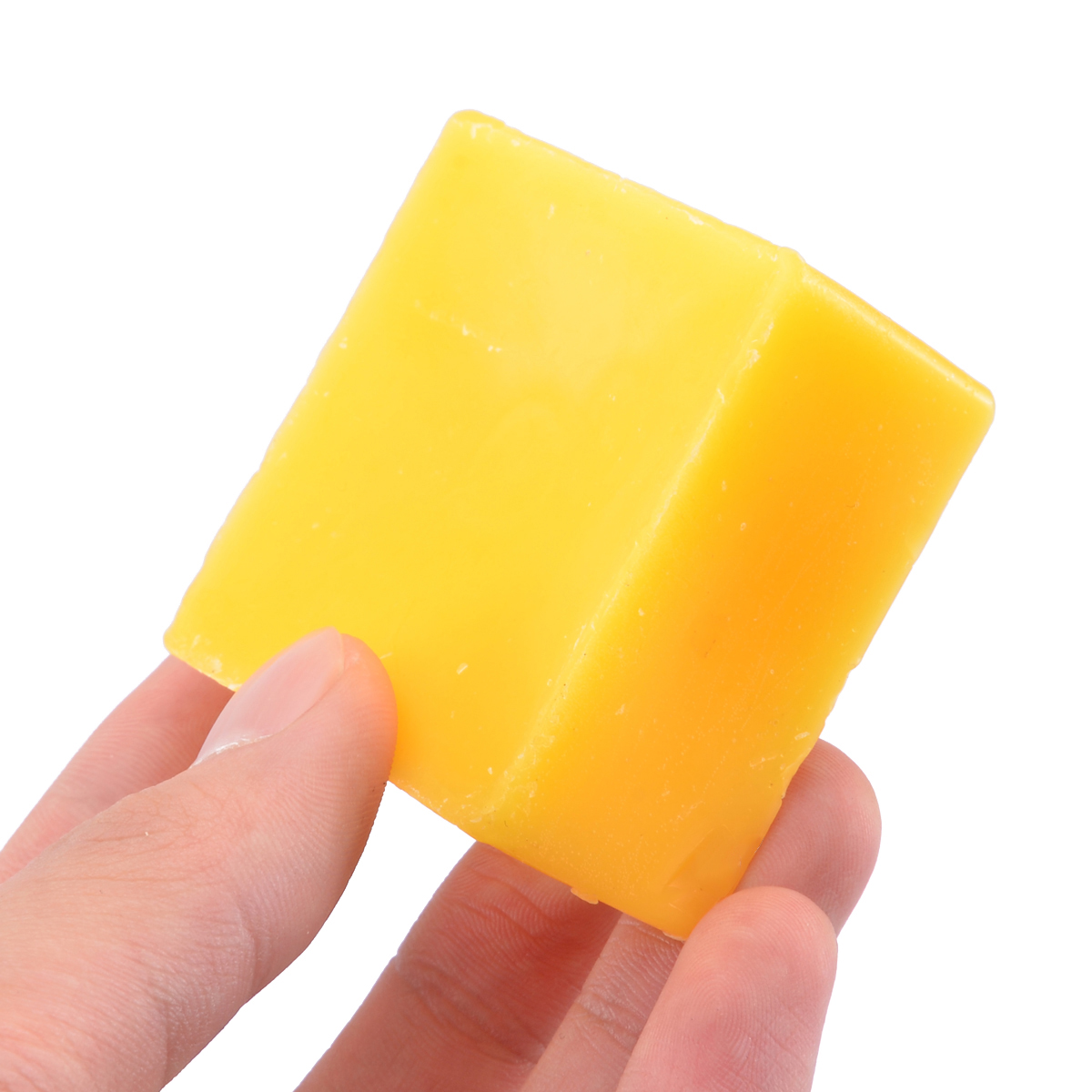 1 Piece 50g Food Cosmetic Grade Organic Beeswax Filtered Natural Pure Bees Wax Bars 1.76oz For Printing/Tanning Industry