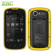 Кен xin да проверки W5 смартфон 8 ГБ IP68 водонепроницаемый 4.0 дюймов Andriod 5.1 MTK6735 Quad Core ОЗУ 1 ГБ сети 4 г мобильного телефона