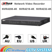 Original Egnlish version dahua NVR 8/16/32CH 4K H265 H264 1U Network Video Recorder NVR4208-4K NVR4216-4K NVR4232-4K
