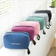 Makeup bag hook waterproof large capacity Korean version of multi-functional portable travel toiletry storage