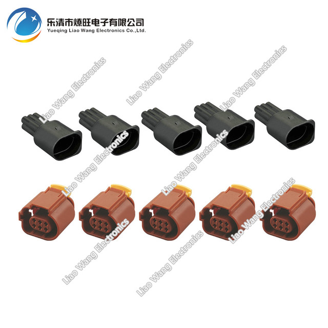 5 Sets Waterproof Connector Automotive Wire Harness Connector