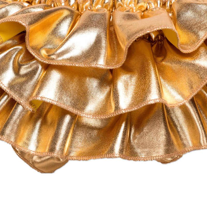 Детские шаровары с золотыми оборками; шорты для девочек; штаны с оборками; новые детские подгузники; Одежда для новорожденных; шаровары-пачки для девочек