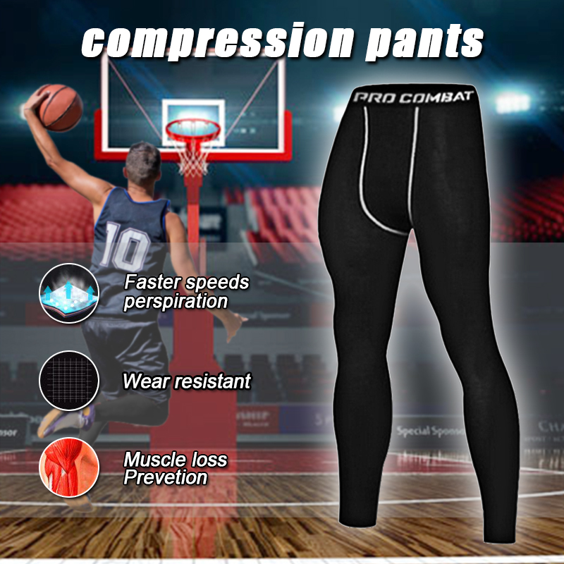 Basketball Compression Hosen Sport Laufhose Männer Jogging Leggings Fitness Gym Kleidung Sport Leggings yoga leggings männer