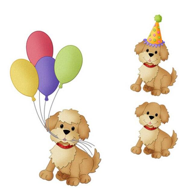 12,3x8,2 см маленькие милые собаки штампы металлические режущие штампы новые 2019 рождественские Скрапбукинг Новые поступления металлические высечки фон
