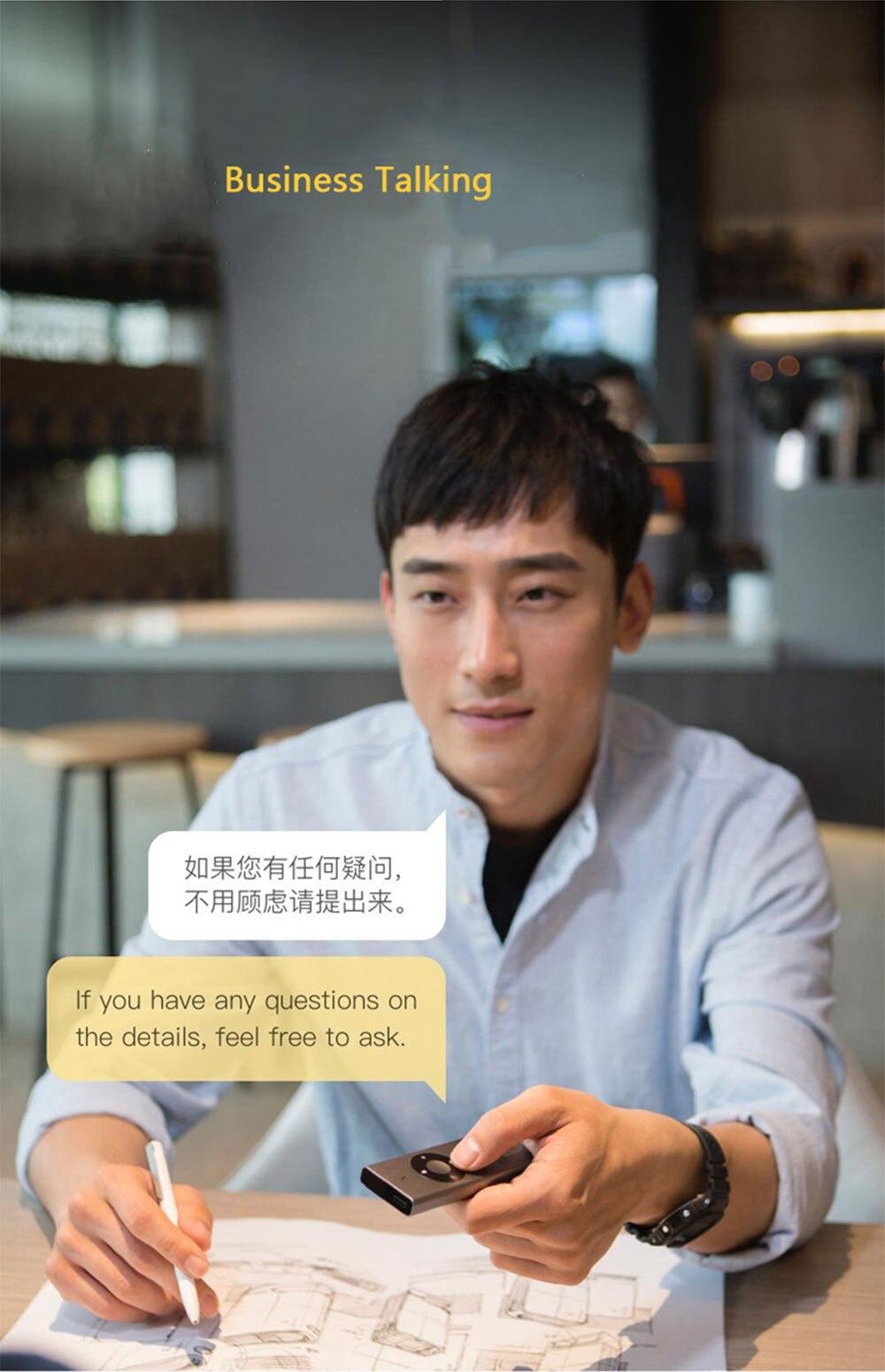 Xiaomi Mijia AI Voice Translator Interpreter (6)