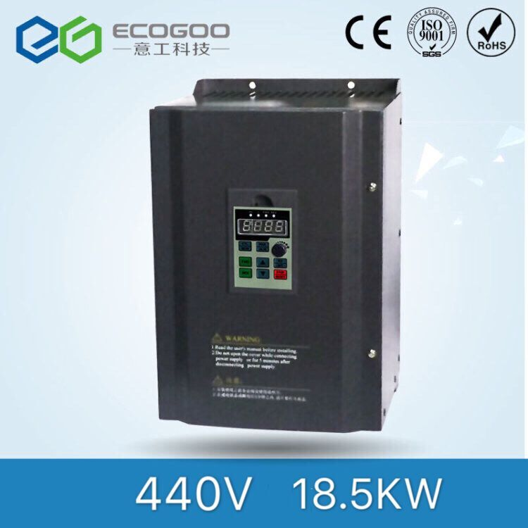Three Phase 440V 18.5kw Motor Speed Regulator Frequency Inverter for Water Pump 440v 18 5kw three phase frequency inverter with high performance for air compressor