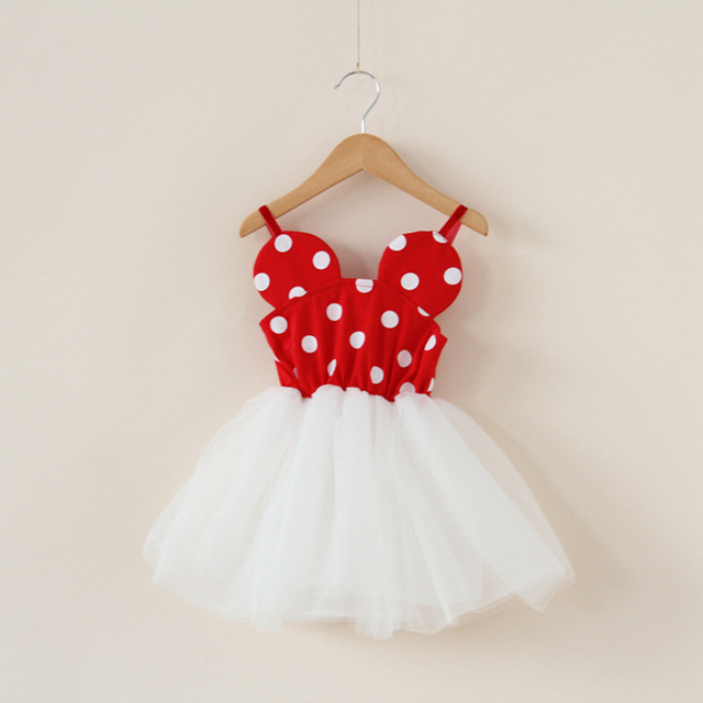 Toddler Girl Minnie Mouse Dresses Baby Girl Tulle Tutu Dress Braces Cute Girl Party Dress & Toddler Girl Minnie Mouse Dresses Baby Girl Tulle Tutu Dress Braces ...
