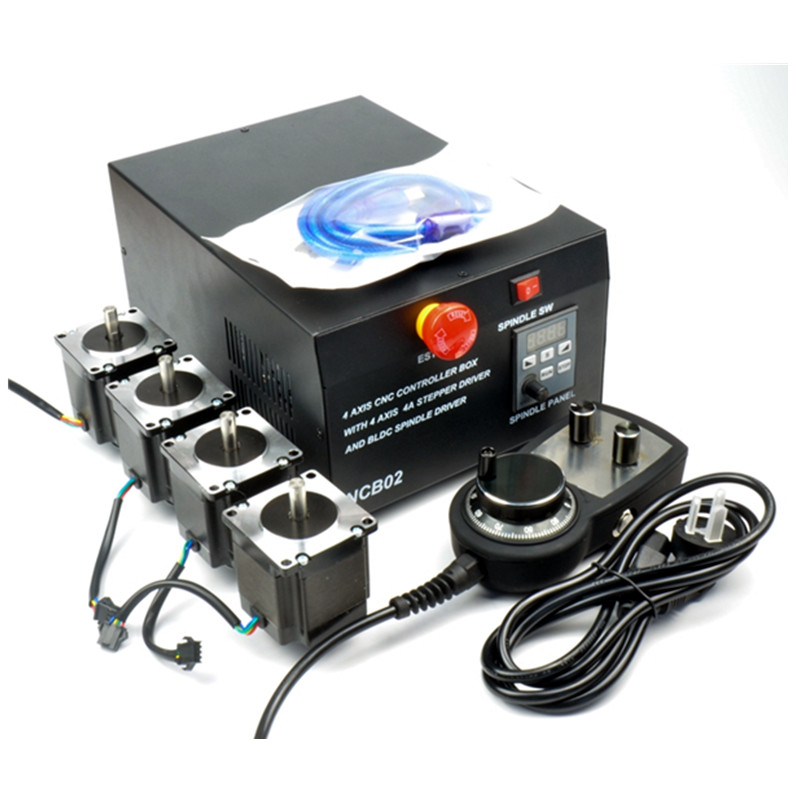 CNC boîte de contrôle de machine de gravure 4 axes MACH3 interface USB pour la machine de CNC de bricolage