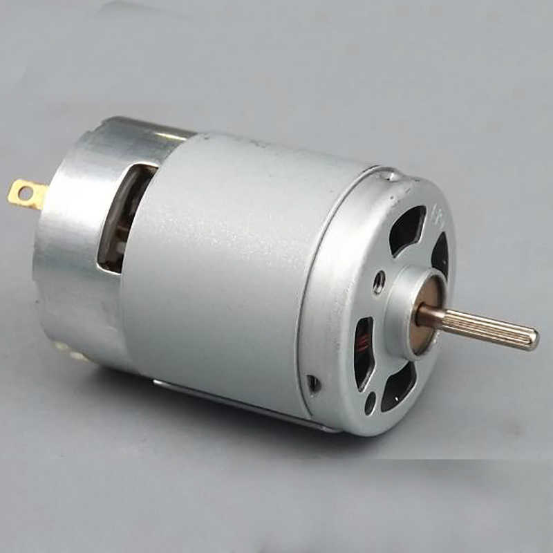 DC 3.7V 5V 6V 7.4V 46000RPM Hoge Snelheid High Power Mini RS-380 DC Motor DIY gekartelde shaft w/Cooling Fans DIY RC Vliegtuigen Model