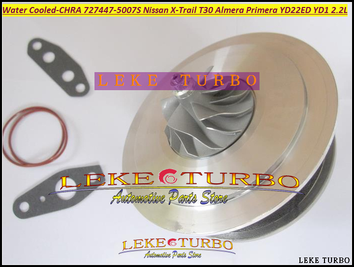 Water Cooled Turbo Cartridge CHRA GT18 727477-5007S 727477 Turbine For NISSAN X-Trail T30 Almera Primera 03- YD22ED YD1 2.2L купить бампер nissan almera n16