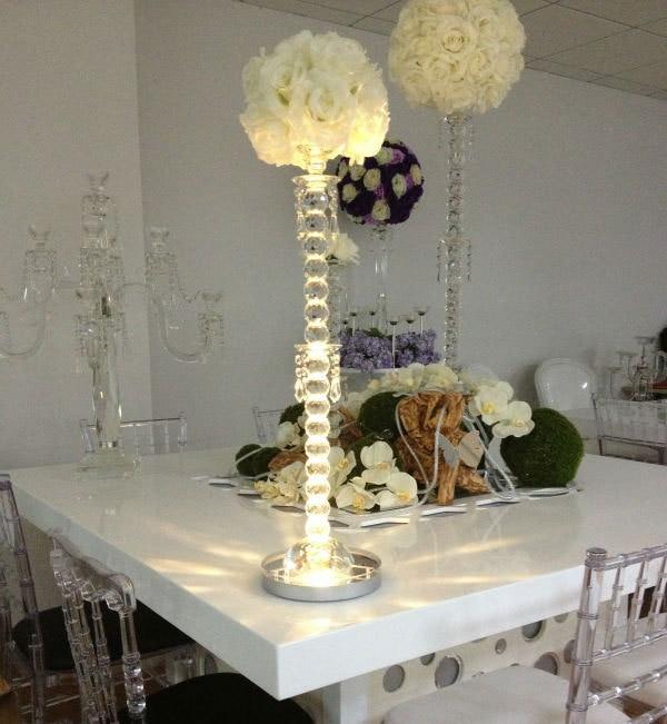 2016 진짜 냉동 된 파티 장식 무료 배송 원격 제어 8inch 충전식 Rgb Led 센터 피스 결혼식 테이블 화병에 대 한
