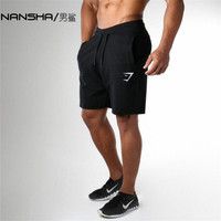2017 Summer Quality Black Slim Cotton Men Golds Brand Shorts Mens Professional Short Gasp Big Size