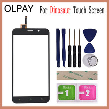 "5.5"" Touch Screen For Cubot Dinosaur Touch Screen Digitizer Panel Front Glass Lens Sensor Tools Adhesive+Wipes"