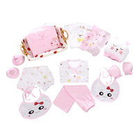 Pure Cotton 18pcs Set Spring Autumn Baby Clothing For Newborn Baby Girl Clothes Boy Clothes Sets