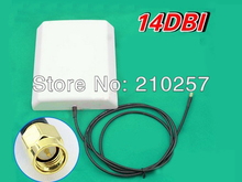 Free Shipping 1pcs 14dbi HIgh Gain 3G Antenna GSM Directive With Sma Male Connector
