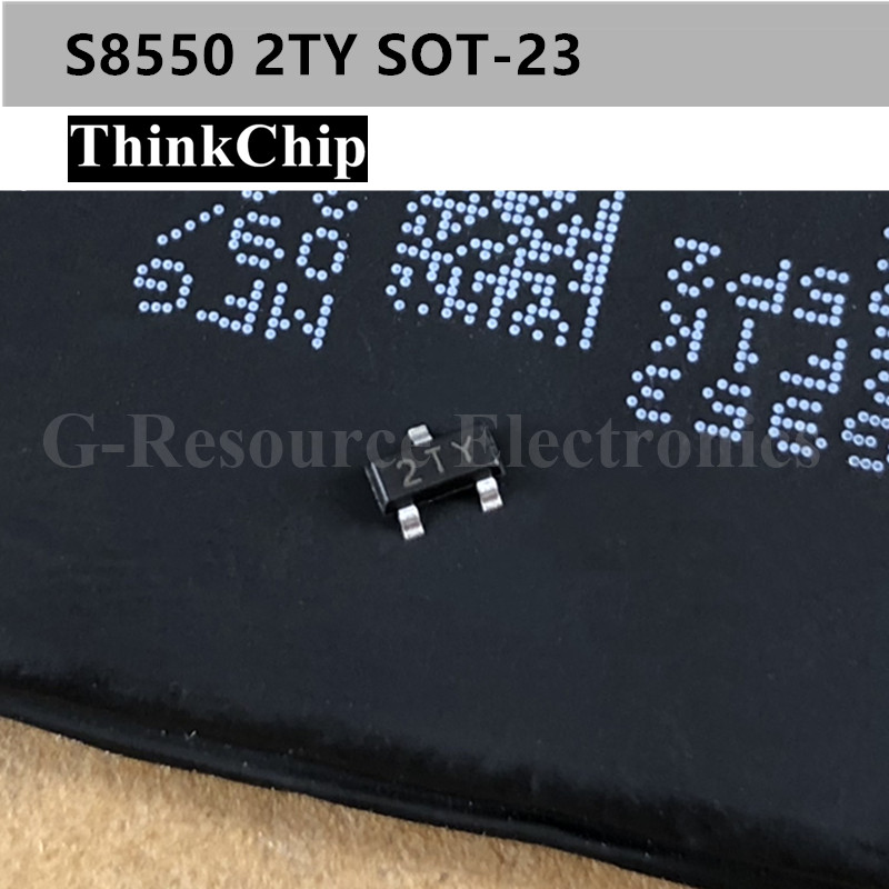 Free Shipping 100pcs/lot S8550 2TY SOT-23  SMD Transistor NEW Original