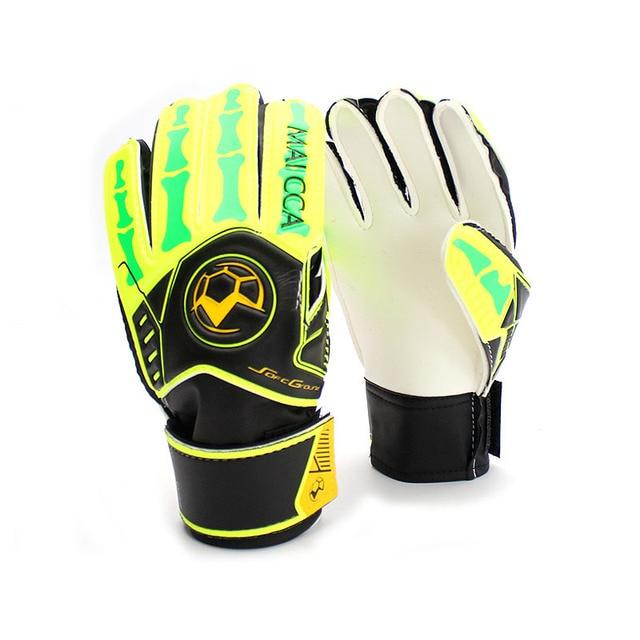 Maicca Professional Soccer Goalie Gloves Kids Latex Children
