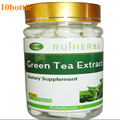 10 Botella 98% de Polifenoles Totales 50% EGCG Extracto De Té Verde Cápsula 500 mg x 900 recuento de Pérdida de Peso