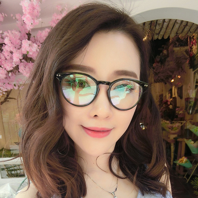 9e6fcc82d3 Vintage Luxury Brand Clear Lens Glasses frame Women Eyewear Frame Men  Eyeglasses Spectacle Frame Reading Glasses Oculos de grau