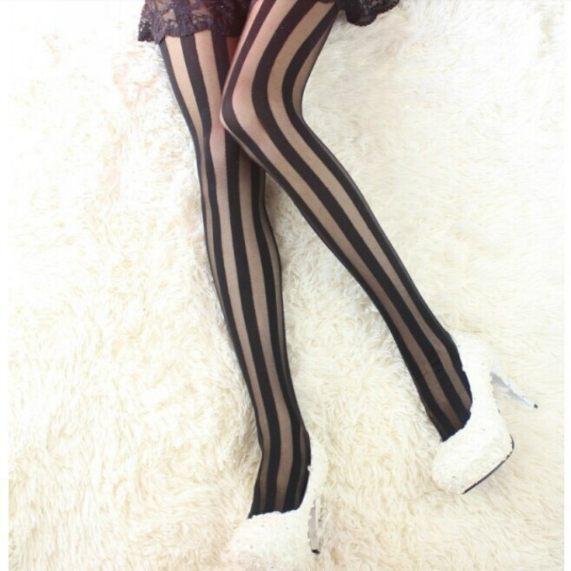 Miss Naughty 50 Denier Opaque Crotchless Tights