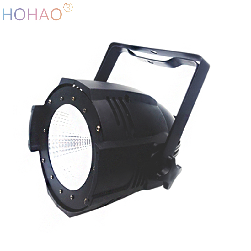 4x a lots LED COB Par 100w 2in1 warm/cool white high brightness sounds music dmx512 control stage lights