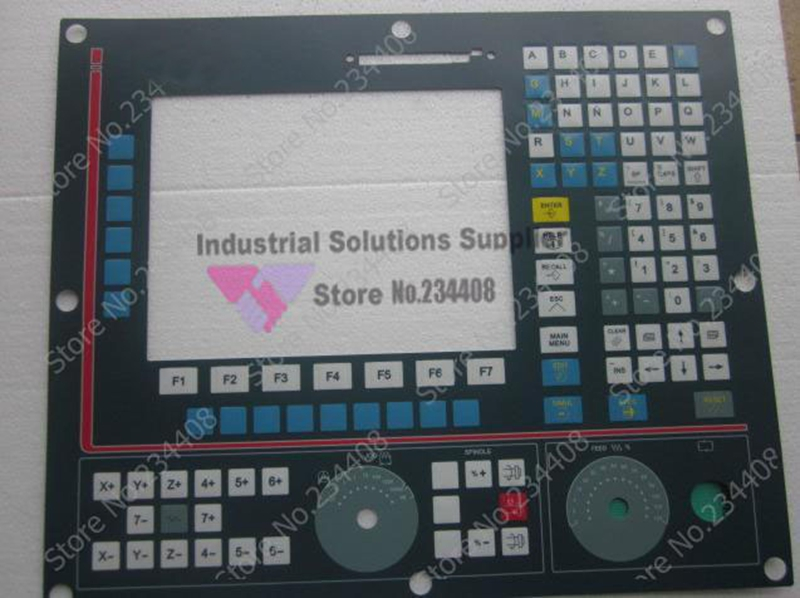 keysters panel 8025MCNC 8035CNC 8040CNC 807 new 6av6542 0ca10 0ax0 keysters mask operation panel