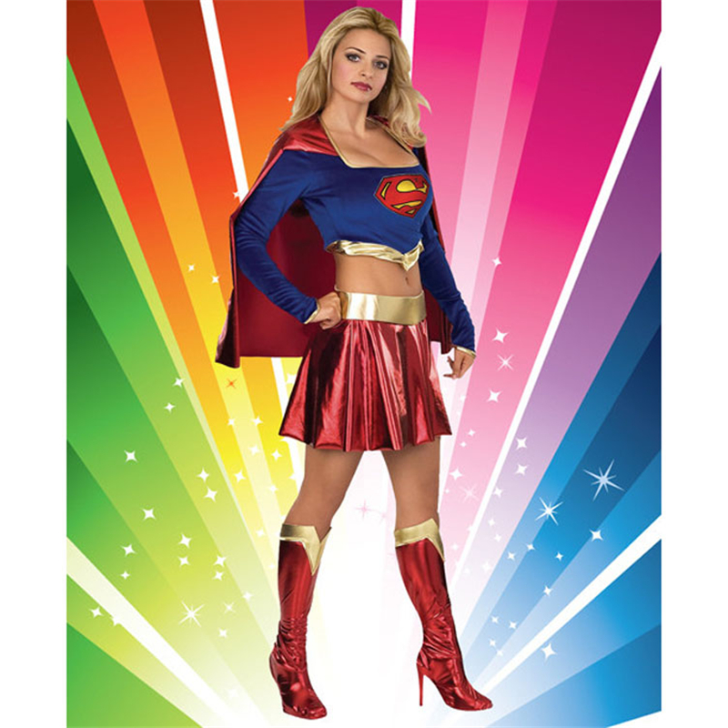 Brand Sexy Superheroine Role Playing Clothing Halloween Costume For Women Adult Carnival Costumes Superwomen Cosplay Clothing On Aliexpress Com Alibaba