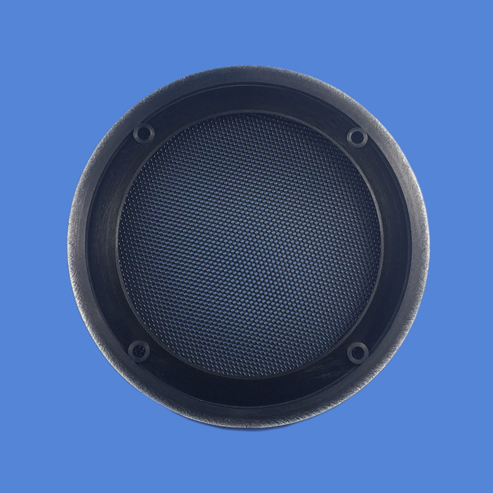 For 4 quot 5 quot 6 5 quot 8 quot 10 quot inch Car Audio Speaker Conversion Net Cover Decorative Circle Metal Mesh Grille Protection Silver Black in Speaker Accessories from Consumer Electronics