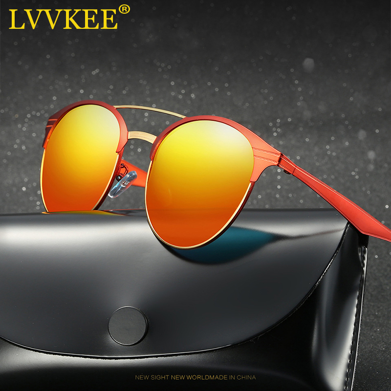 LVVKEE 2018 NEW Luxury HD Polarized Classic Occhiali da sole Donna / - Accessori per vestiti