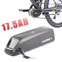 Хайлун батарея с USB Sanyo GA сотовый 48 В 17.5Ah Li Ion Электрический велосипед аккумулятор для bafang 1000 Вт bbshd двигателя комплект