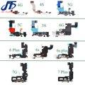 10 шт. для iphone 5g 5s 6 г 6 s 6 плюс 6 s плюс 7 г 7 плюс порт зарядки зарядное dock connector flex кабель с Наушников Audio джек
