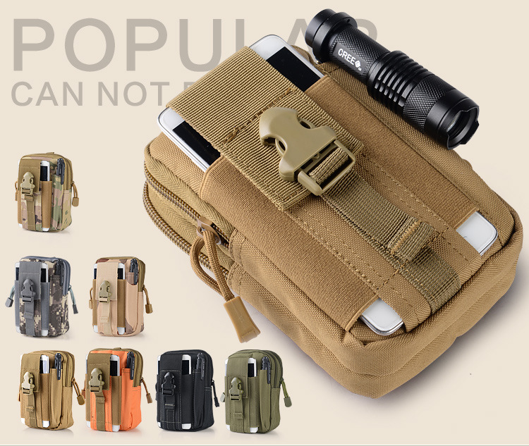 Tactical Waist Bag Mobile Phone pouch Pack Sport Mini Vice Pocket for <font><b>Philips</b></font> Xenium X596 V526 V787 <font><b>E570</b></font> E181 E106 E103 E168 image
