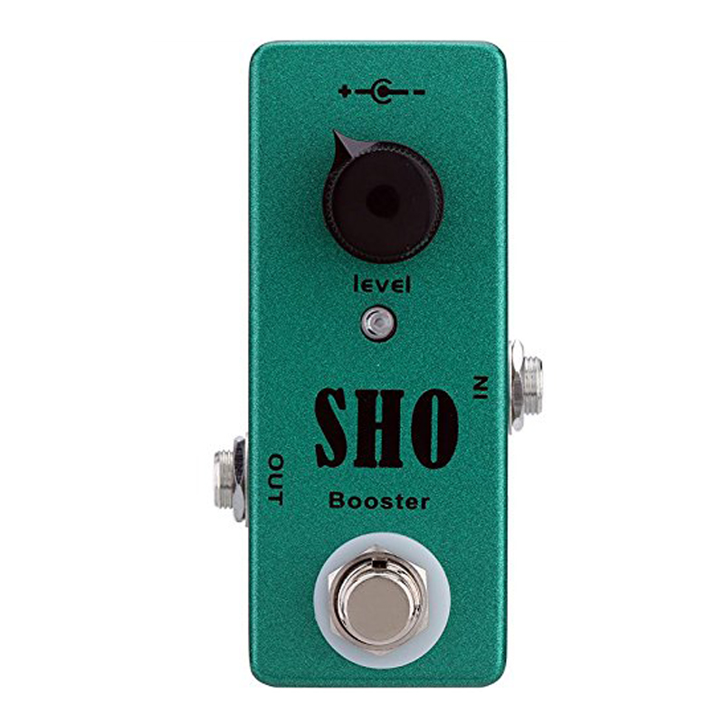 New Mosky Mini SHO Booster Pedal Electric Guitar Effect Pedal with True Bypass