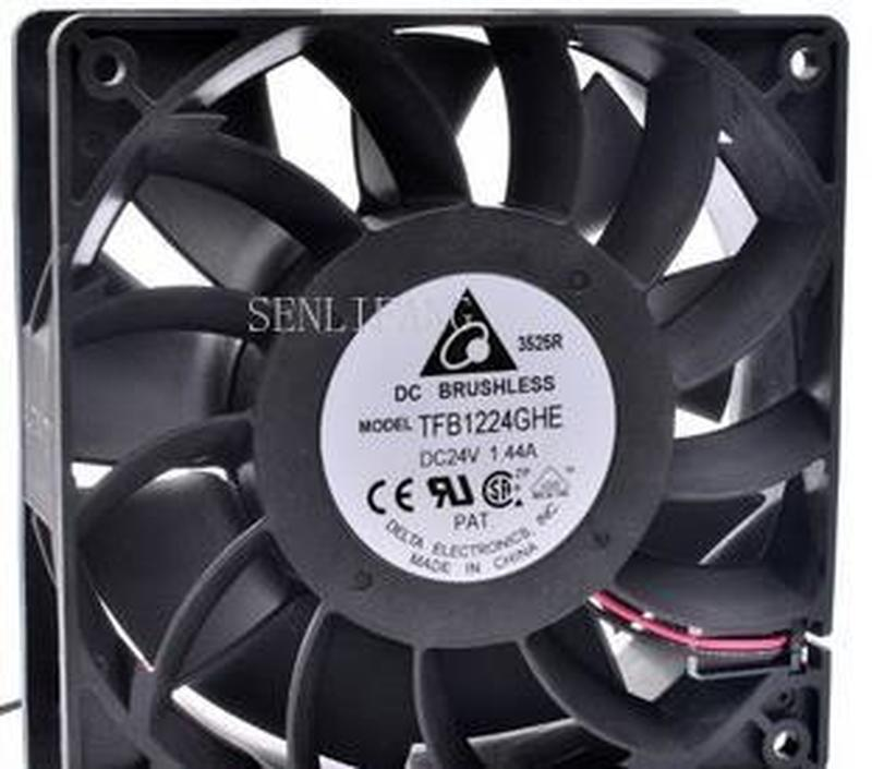 Free Shipping  Original TFB1224GHE 12cm 120mm Fan 120x120x38mm DC24V 1.44A Cooling Fan For Printer Or Inverter