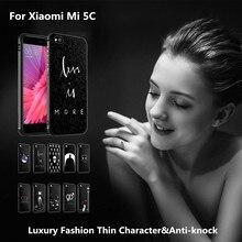 Для xiaomi mi 5 c case роскошные 3d прекрасный живопись мягкая силиконовый защитный обложка case 5.15 дюймов для xiaomi mi5c телефон случаях